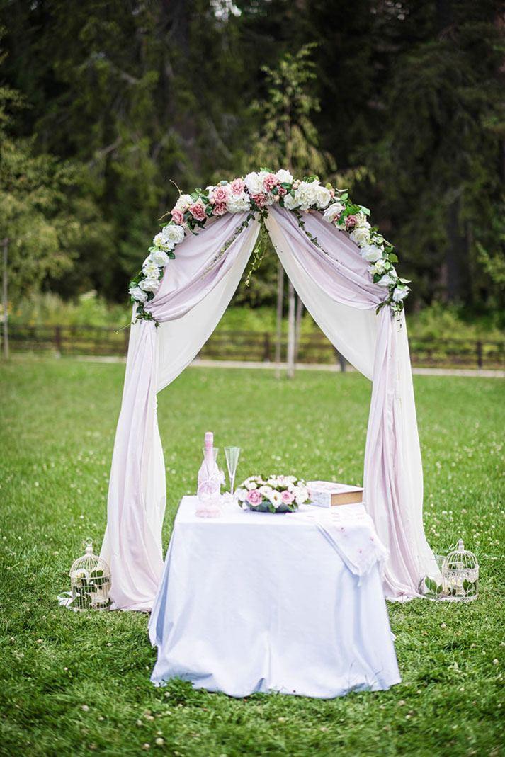 сватба сред природата
